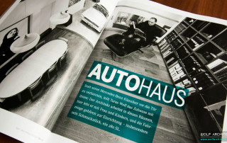 Taras Wolf in The Offical Mercedes Benz Classic Magazine