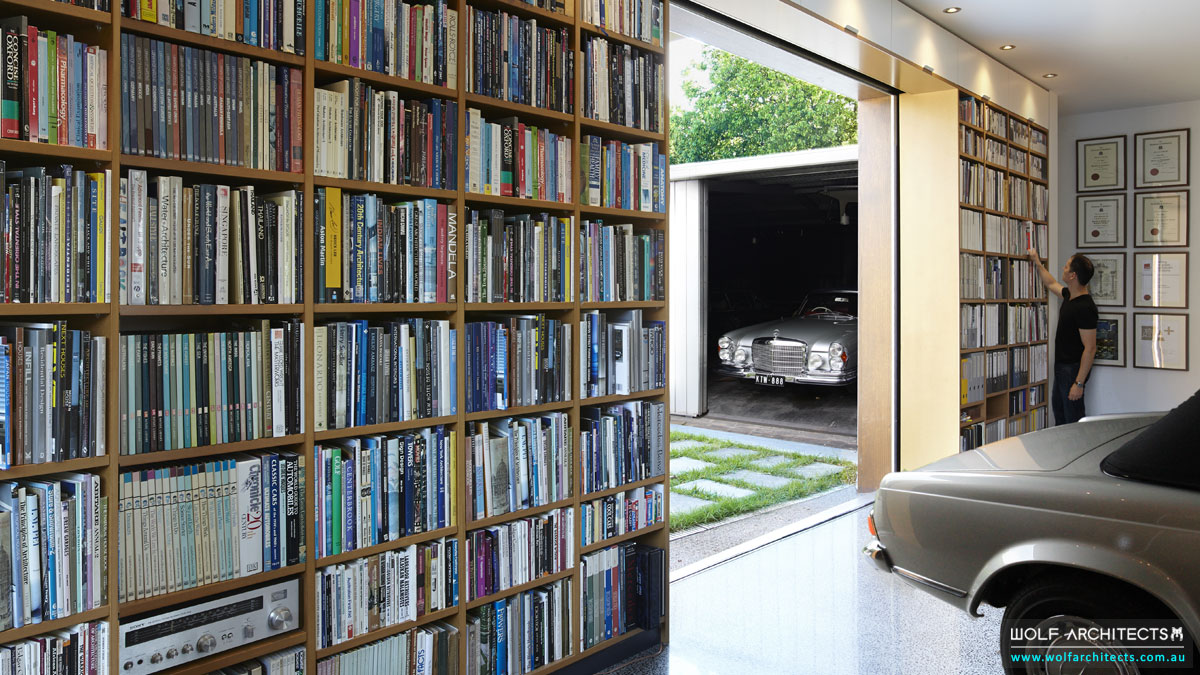 Wolf Architects Office Library