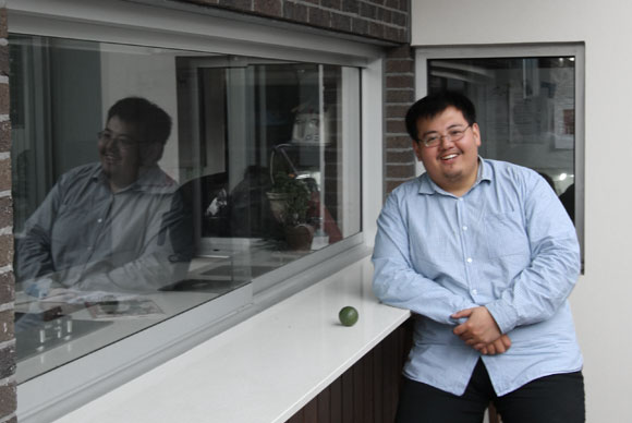 Photo of Bin Xu, a Wolf Architects team member