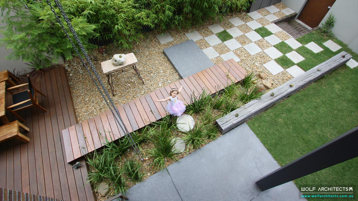 Contemporary Chinese garden designs by Wolf Architects