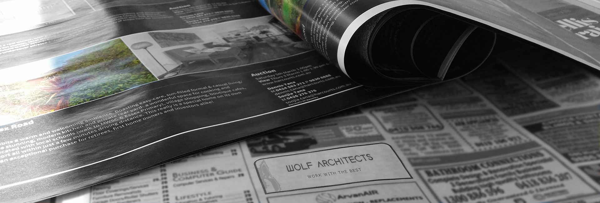 Wolf Architects Job Listing