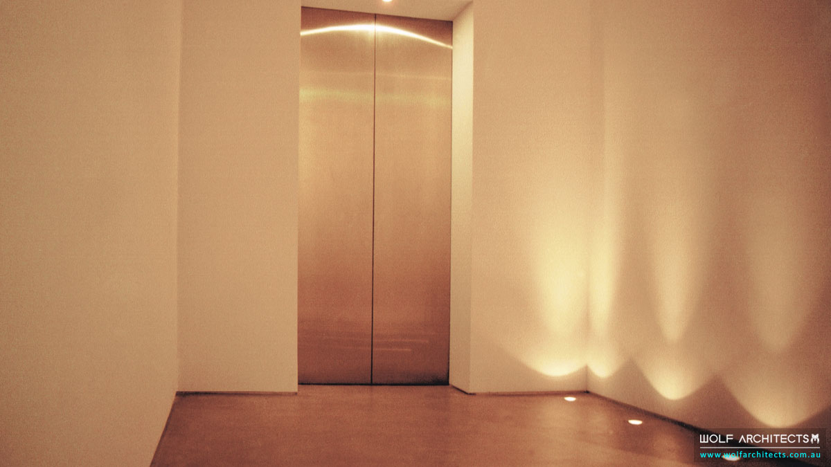 Wolf-Architects-Featured-Project-The-Minimalistic-Residence-Lift-Foyer-Floor-2