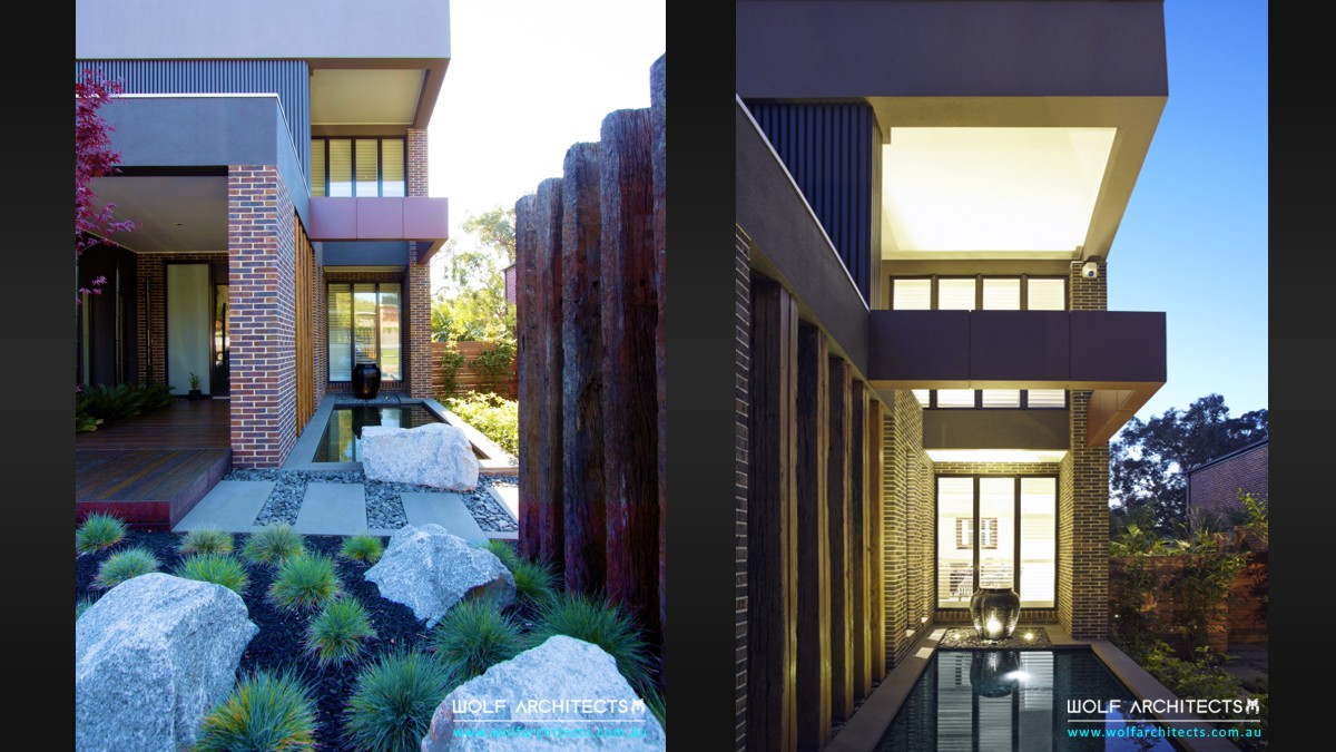 project reserve view house garden design