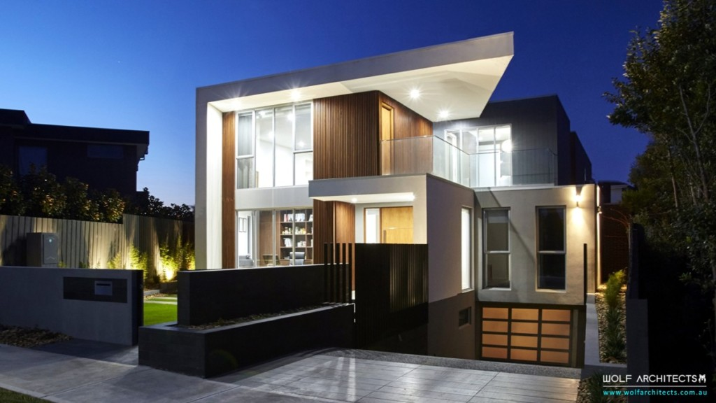 Contemporary WOLF Architects Home Z House