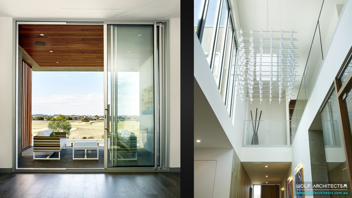 Kruger House Modern interiors by Wolf Architects