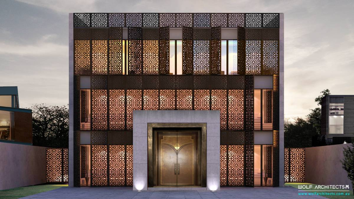 Modern Dubai boutique hotel apartment design by Wolf Architects