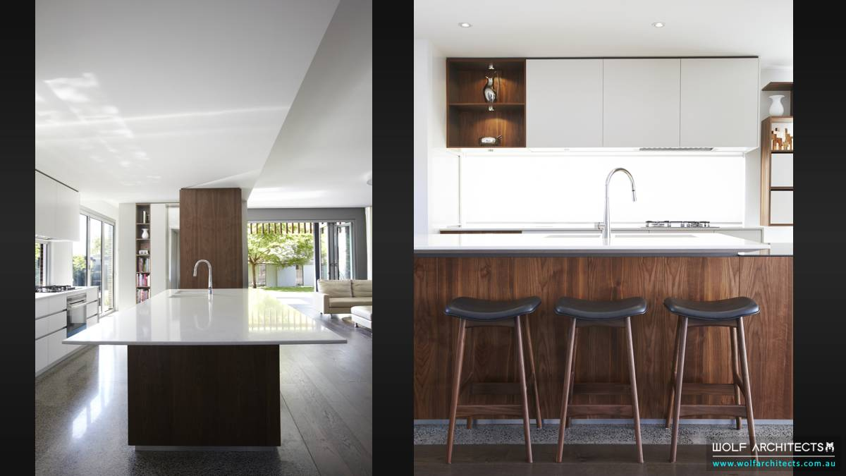 artists chef kitchen by Wolf Architects