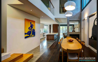 Wolf open plan Kitchen, dining, lounge