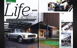 Taras Wolf spread from Mercedes Enthusiast Magazine Issue 159