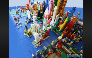 Lego Design Precinct Project