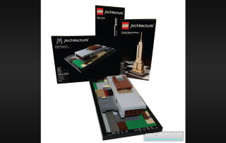Lego Architecture boxes