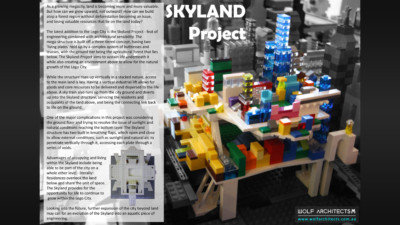 Wolf Architects Skyland project