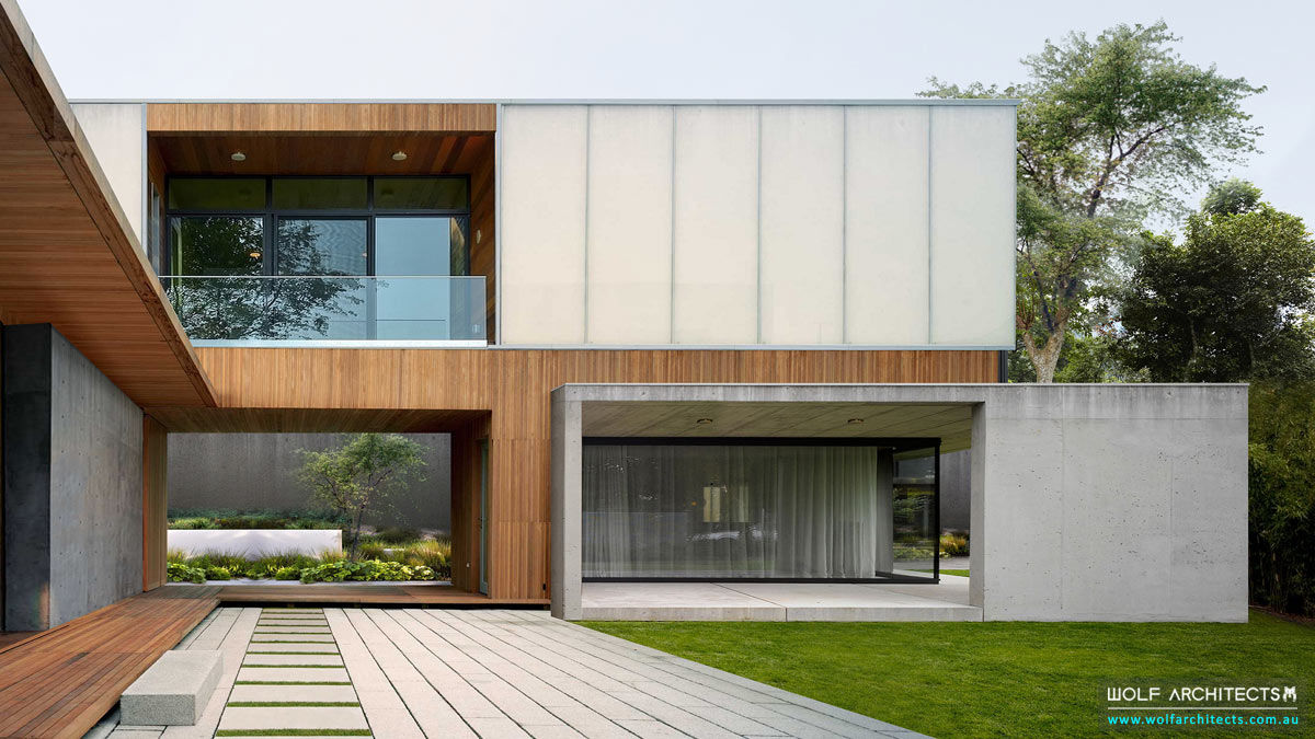 Award winning Frosted court house in Thailand by award winning Australian Architects Wolf Architects