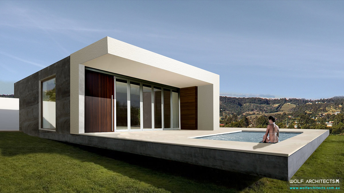 Modern house concept by Taras Wolf
