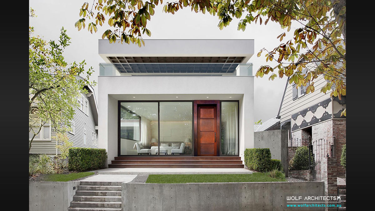 Toorak Smart house design breaks new ground by innovative Melbourne Architects Wolf Architects