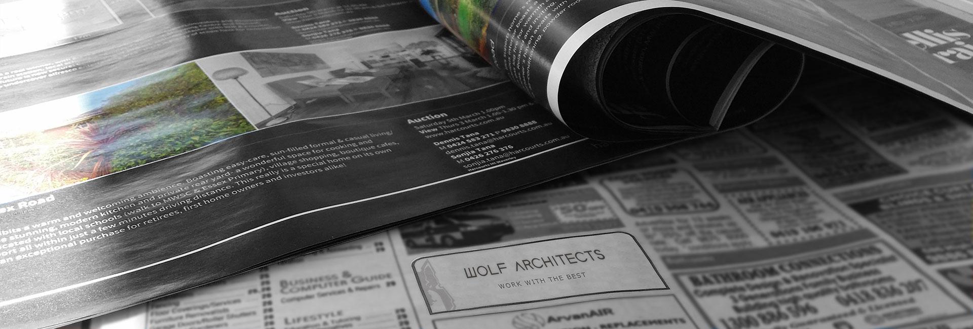 Wolf Architects Job Listing graphic