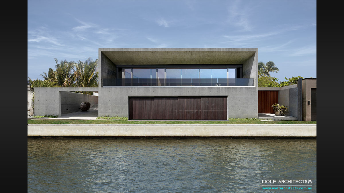 Wolf Architects designs award winning Bangkok River House
