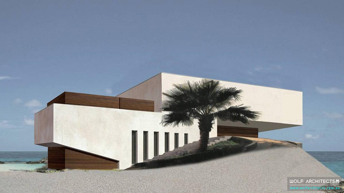Future vision beach home