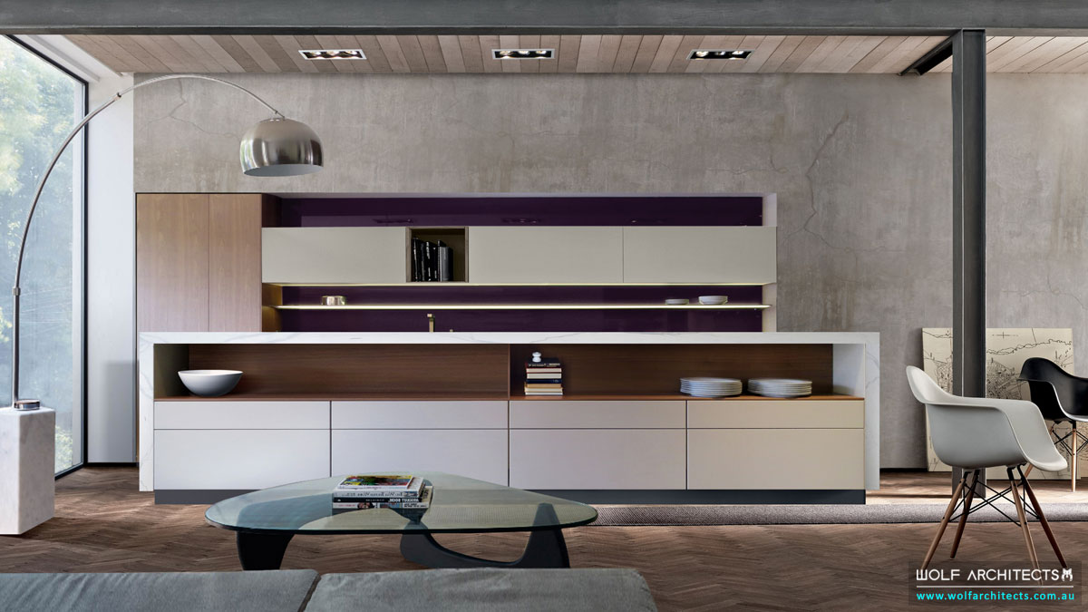 Super Villa Modern contemporary Kitchen