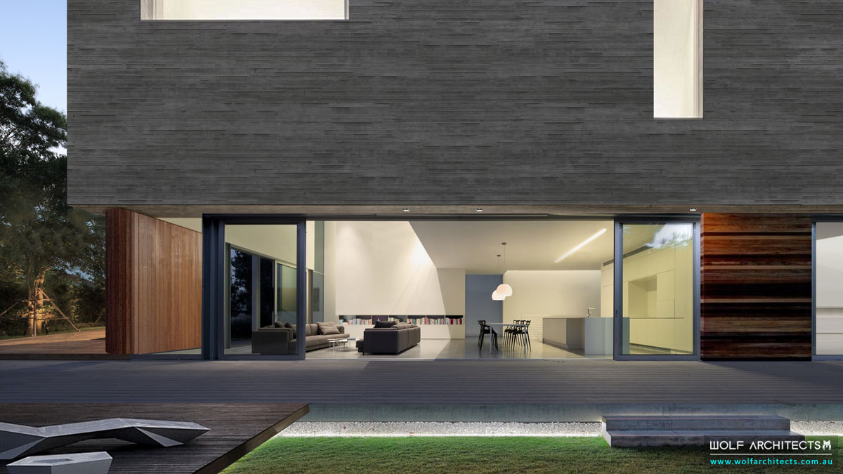 Concrete Eight House Guest Wing