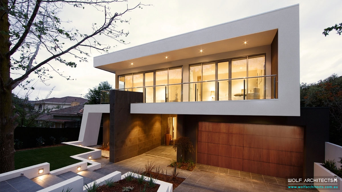 The Balwyn House front exterior