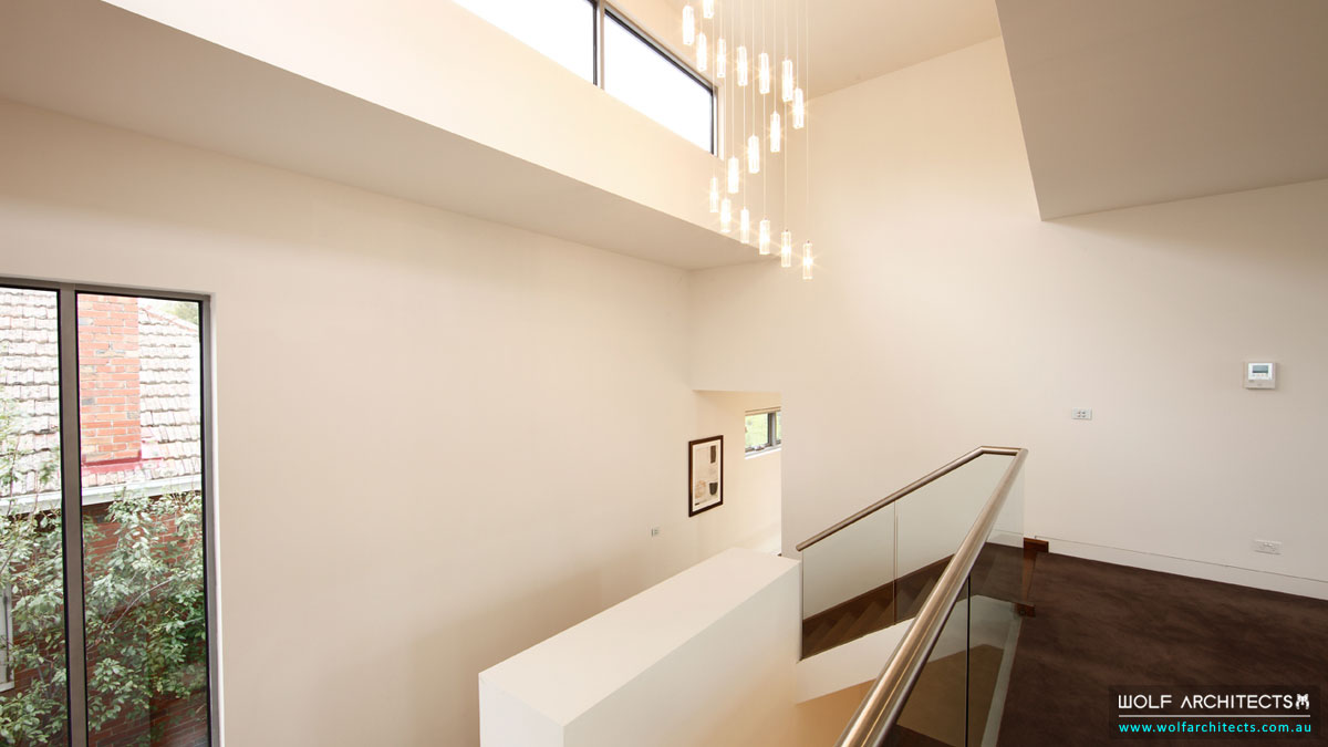 The Balwyn House upstairs landing
