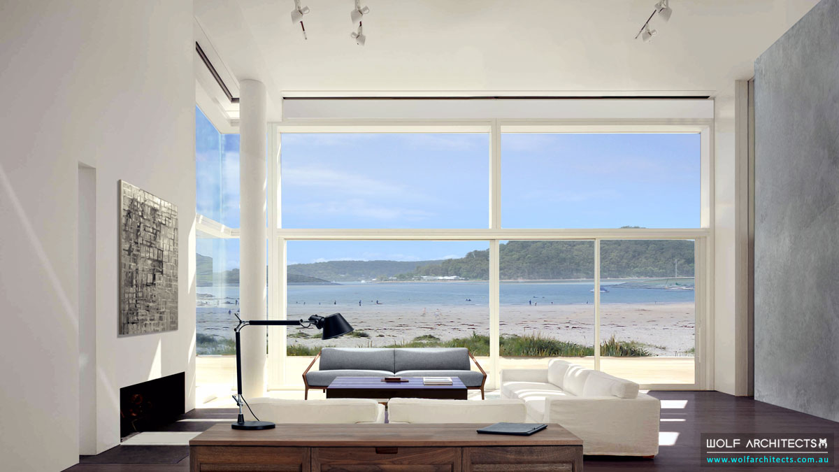 The Contemporary Beach House Beach View Room