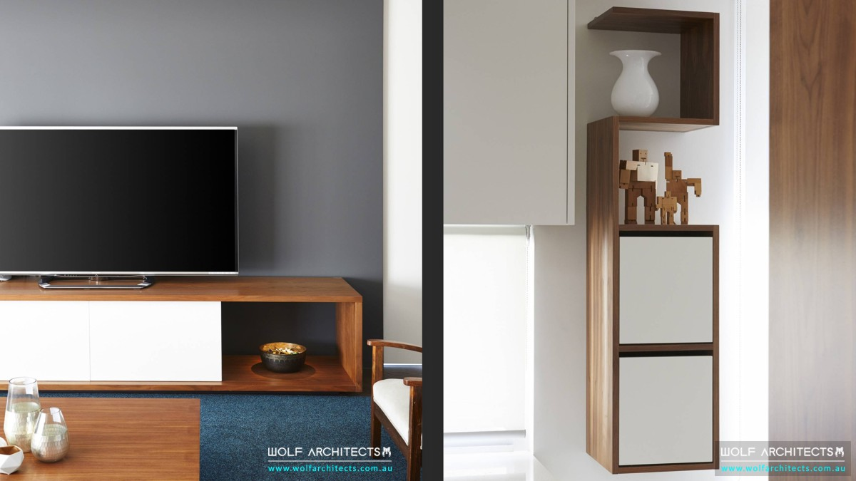 Award winning contemporary house artistic custom furniture