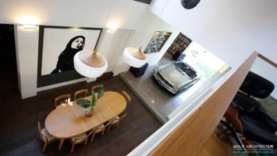 Award winning contemporary house expansive open interior