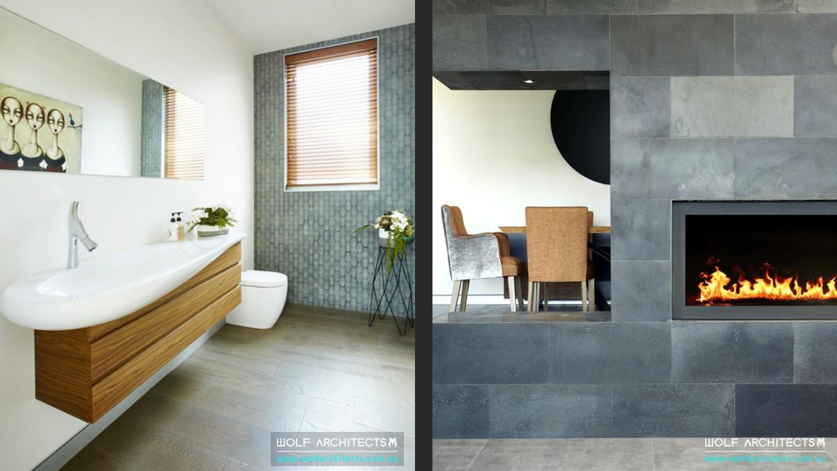 Torquay beach house modern design details