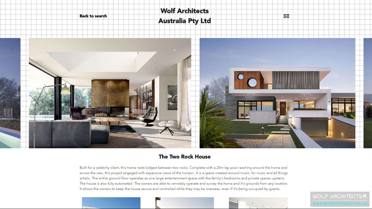 Architeam profile two rock house screenshot
