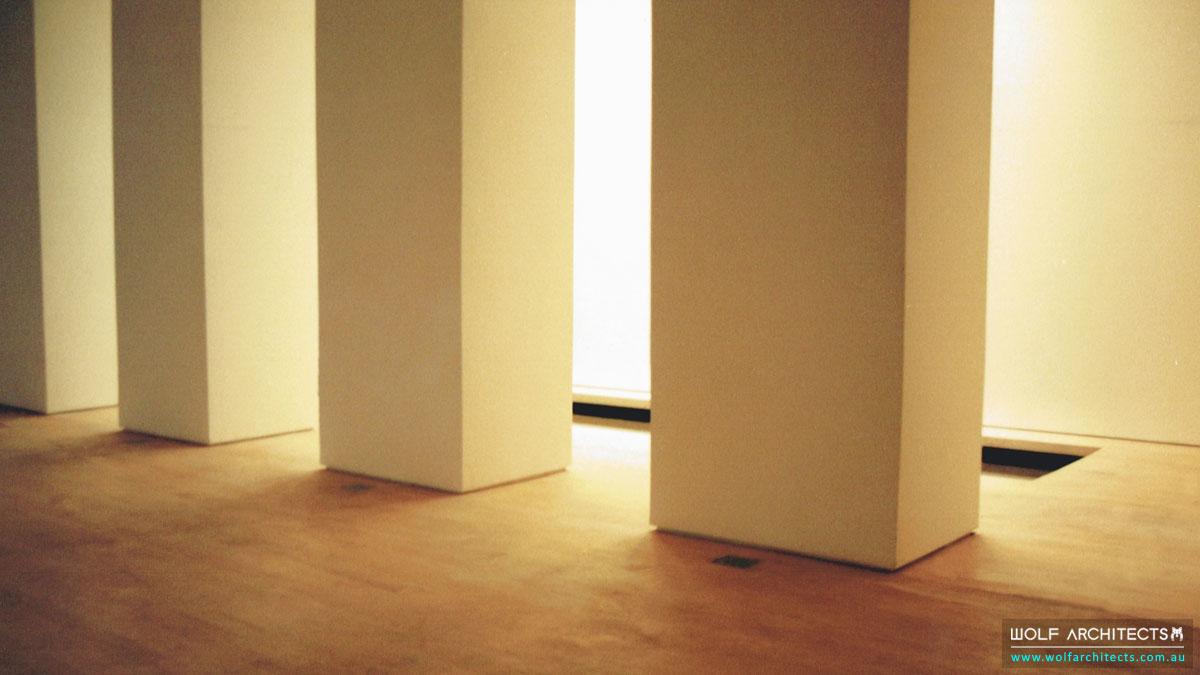 Innertime Dance Studio Columns