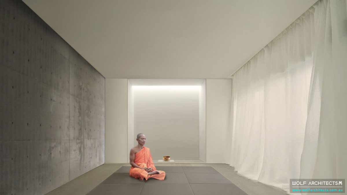 The Meditation Centre Modern meditation Contemplation room