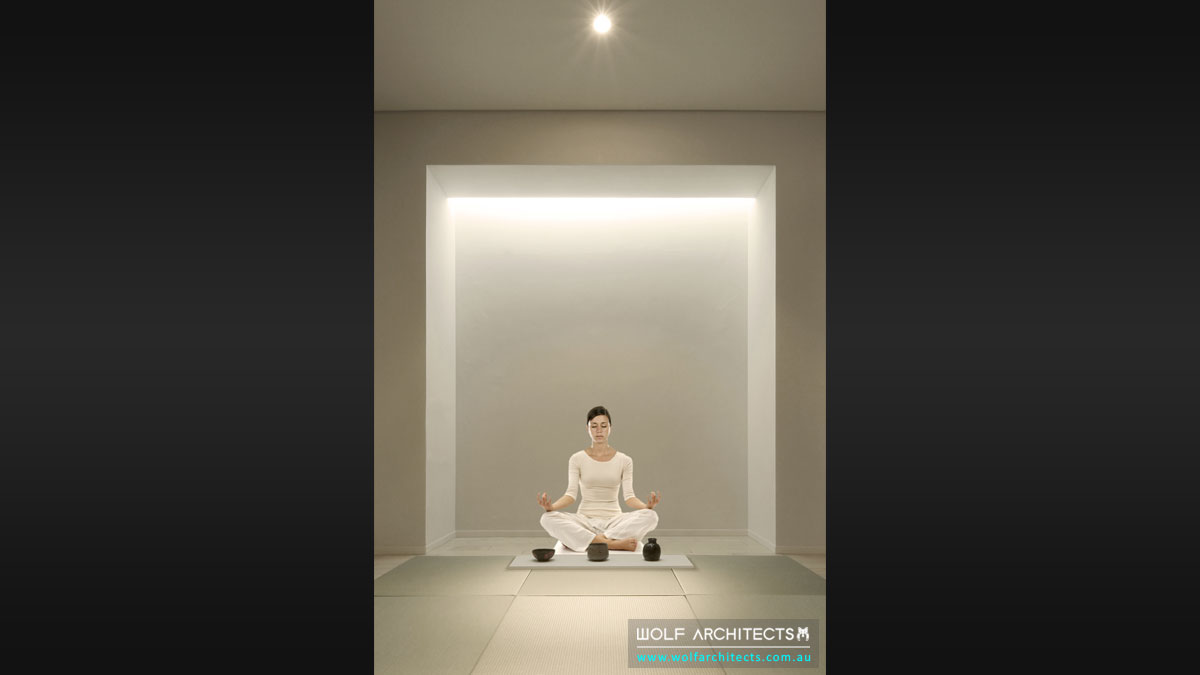 The Meditation Centre meditation room