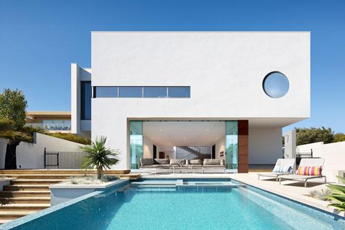White Block House