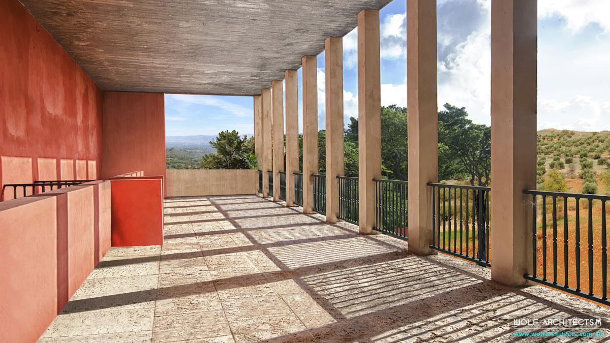 The Spanish Villa Balcony