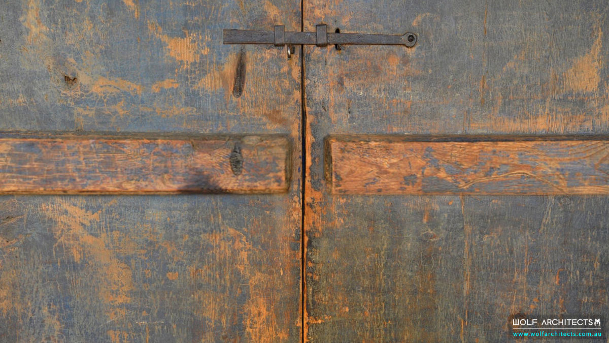 The Spanish Villa Door Lock Detail