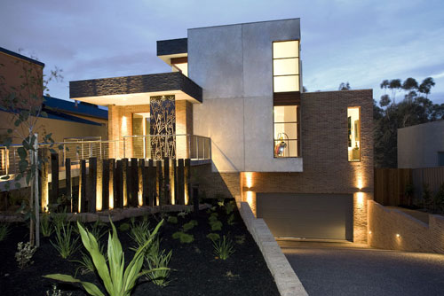 Three Dimensional House exterior