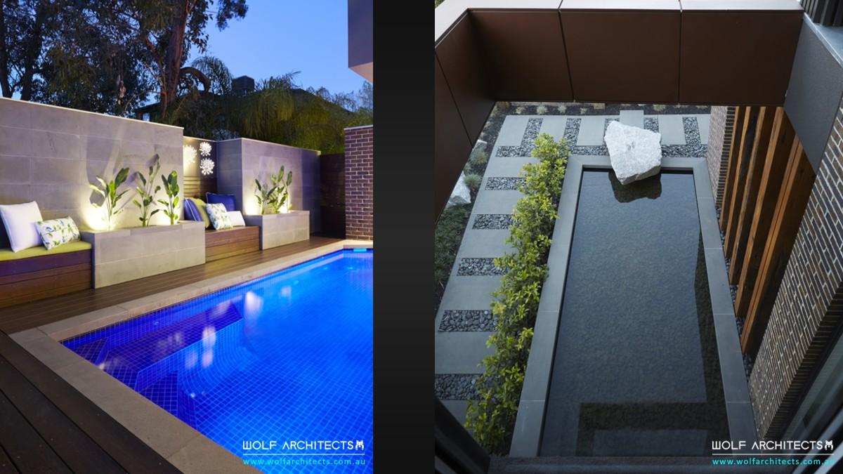 reserve view house landscape design