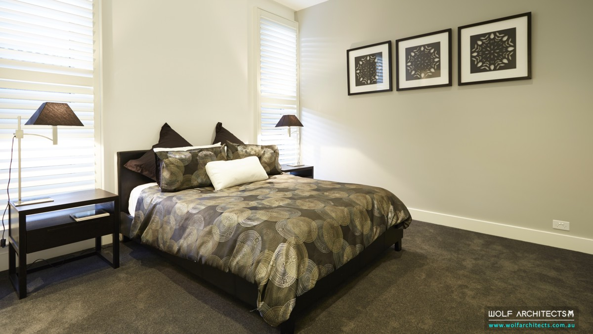 baldwyn house modern bedroom 2