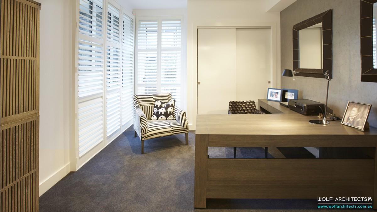 baldwyn house modern study