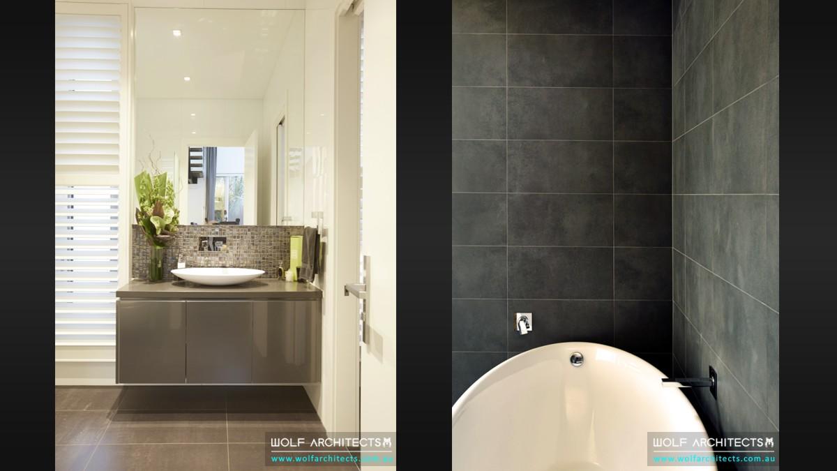 baldwyn house modern bathroom