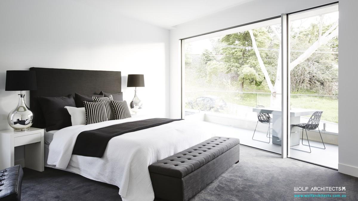 baldwyn house modern bedroom