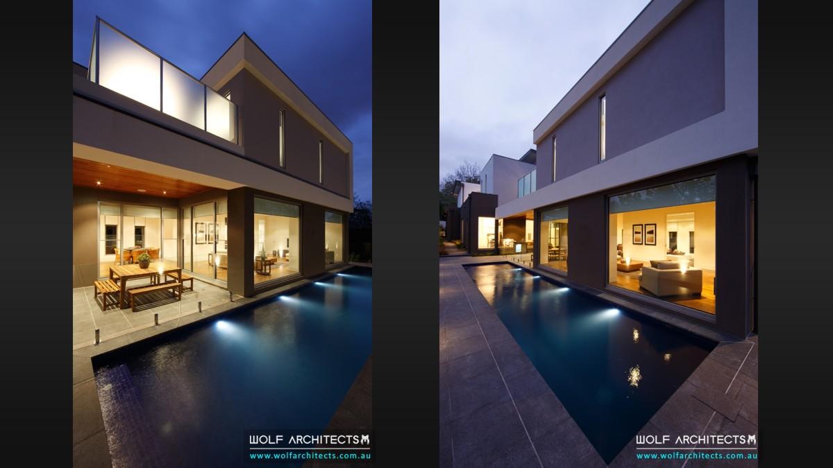 baldwyn house modern outdoor room