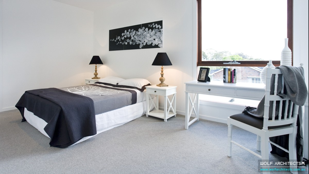 wolf apartments modern contemporary bedroom