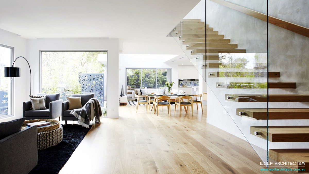 third house modern contemporary living room
