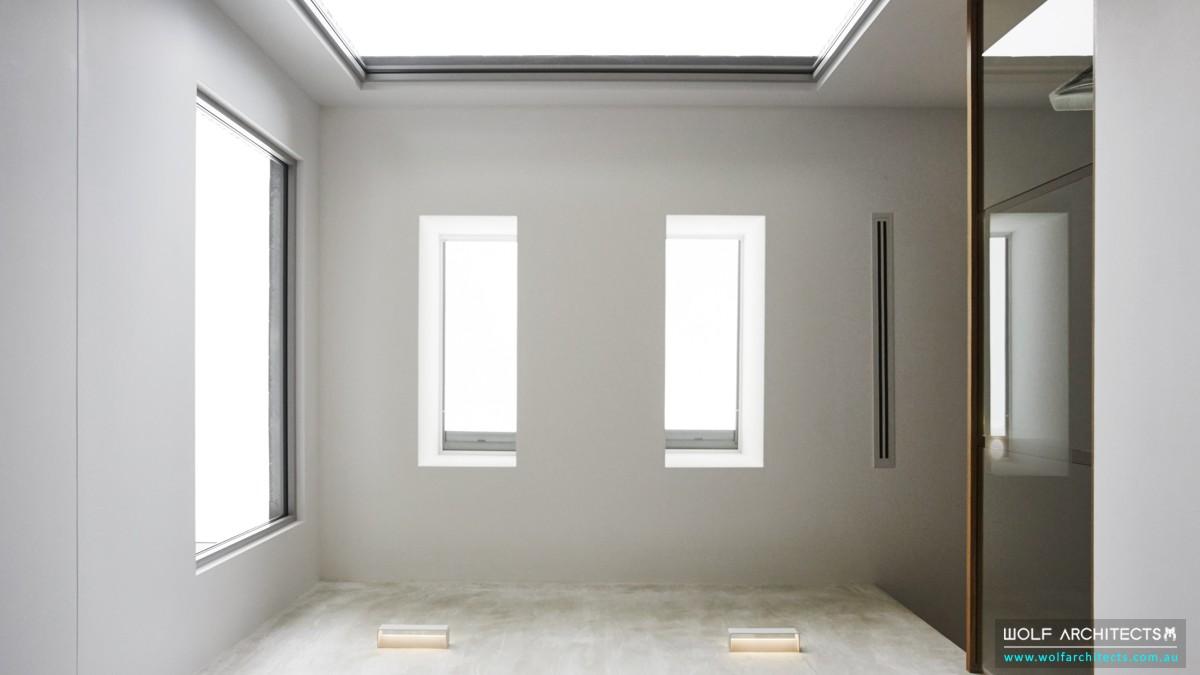 third house modern contemporary skylights