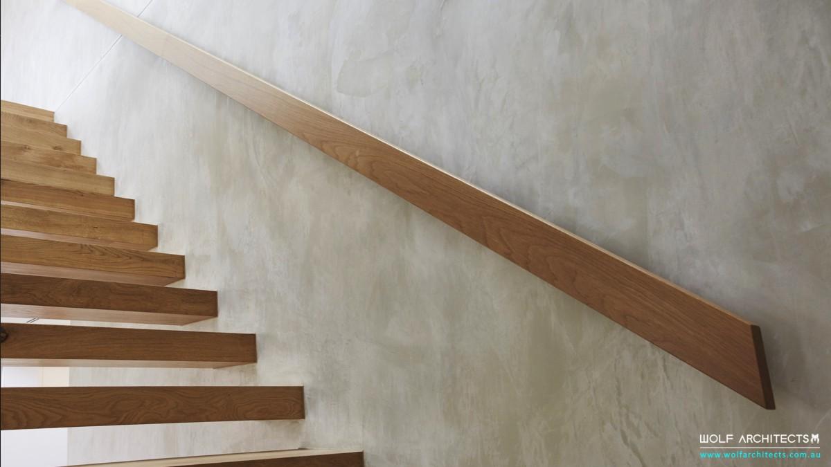 modern minimal stairs