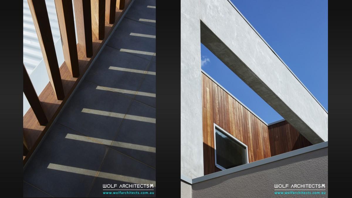 Kruger house modern exterior details