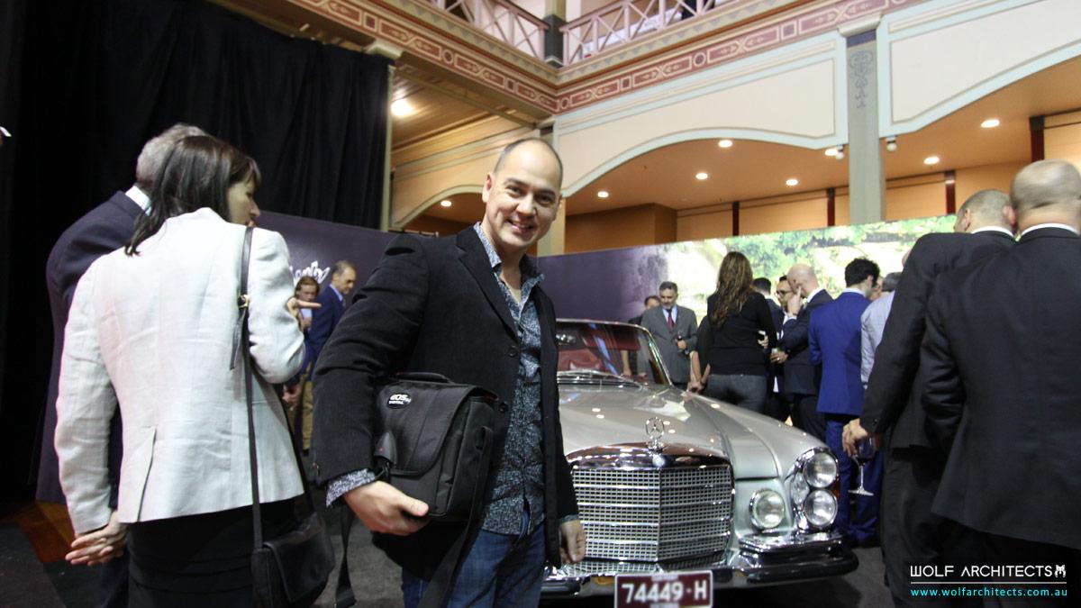 Taras Wolf at Motor classica